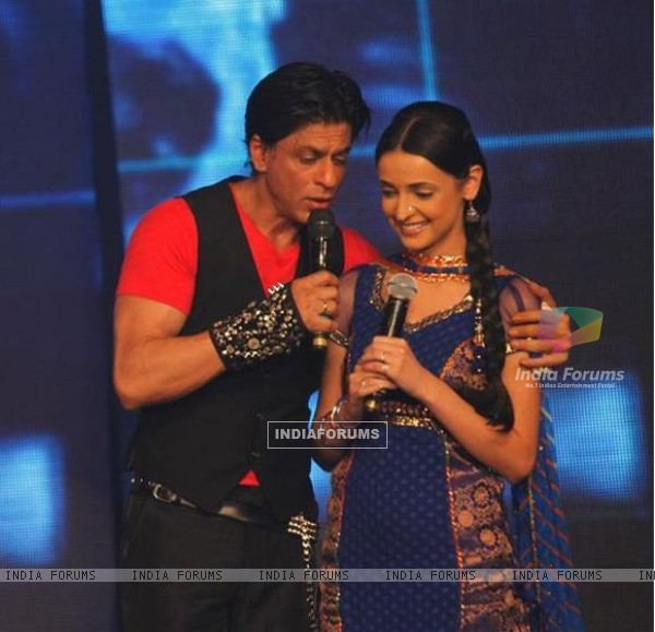 Sanaya and SRK