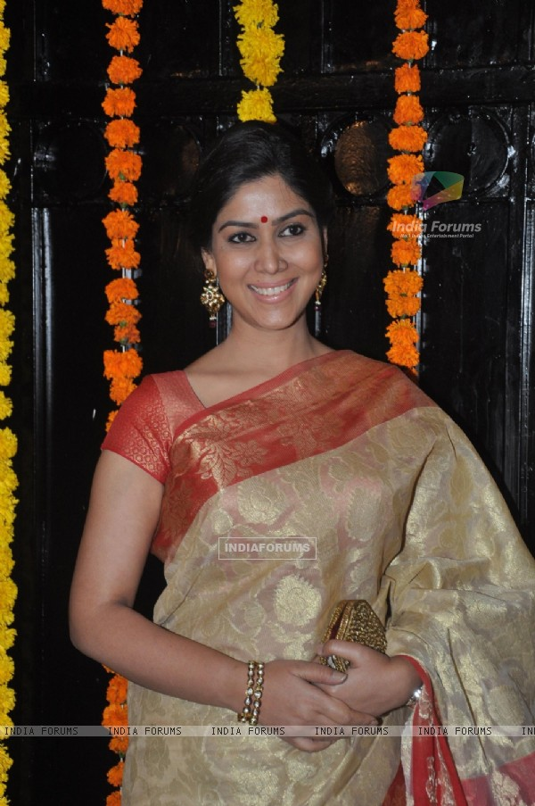 Sakshi Tanwar at Ekta Kapoor's Grand Diwali Party