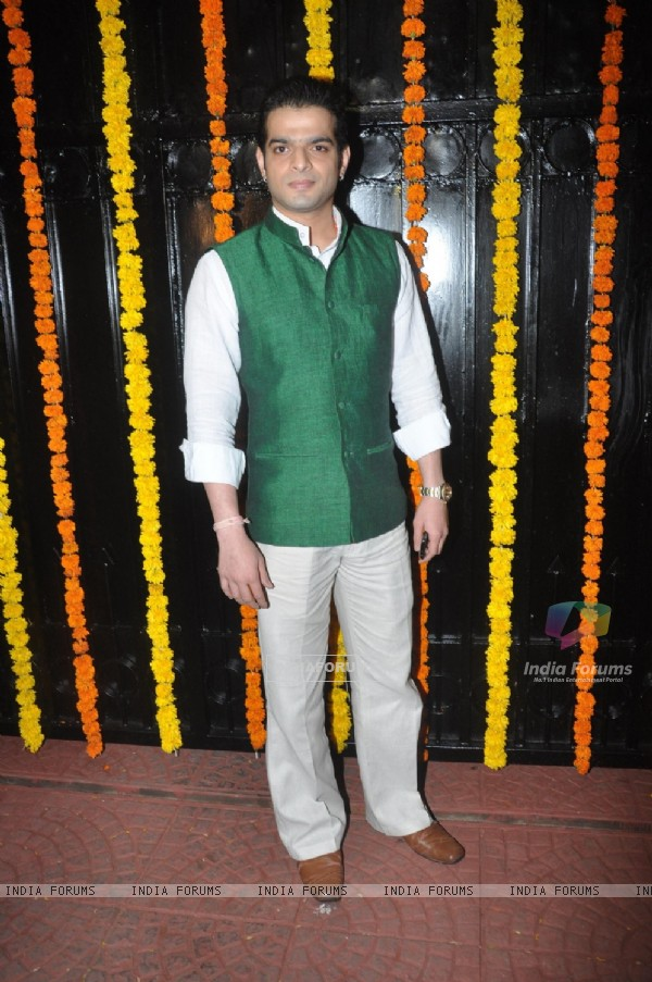 Karan Patel was at Ekta Kapoor's Grand Diwali Party