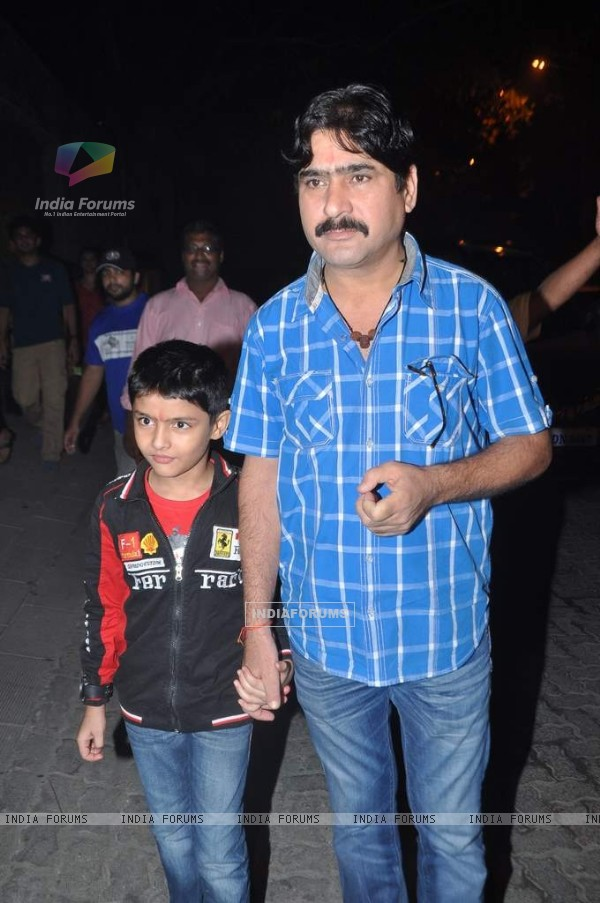 Yashpal Sharma at Aamir Khan's Diwali Bash