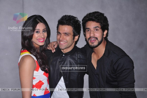 Kishwer Merchant was at Rithvik Dhanjani's Birthday Party