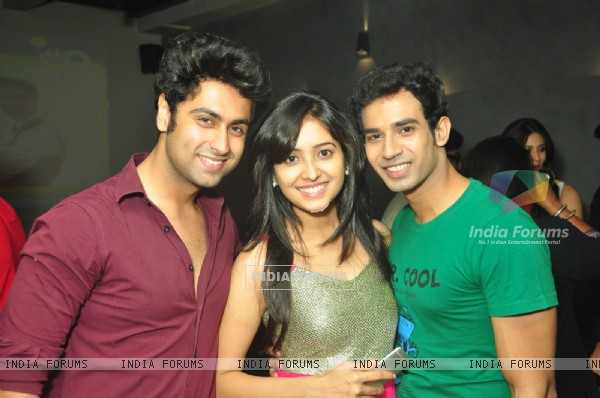 Ankit Gera and Asha Negi were at Rithvik Dhanjani's Birthday Party