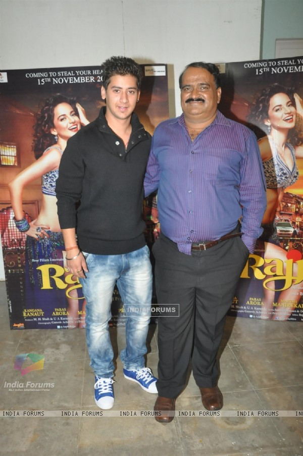 Press Meet of Movie Rajjo