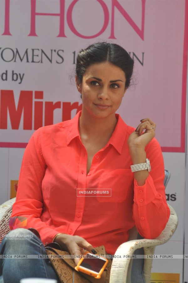 Press conference of Pinkathon International Women's 10K Run