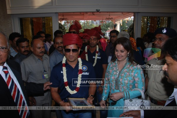 Sachin Tendulkar Honoured by the Mumbai Cricket Association