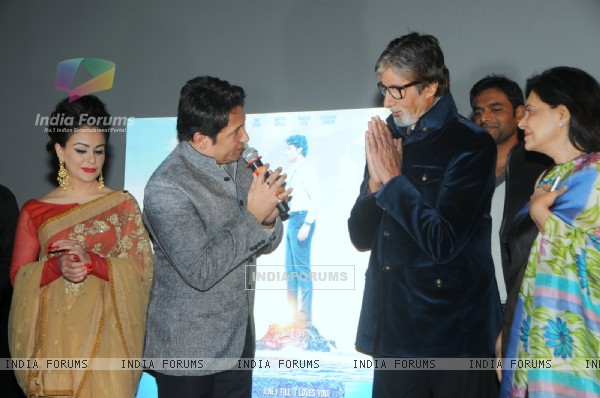 Amitabh Bachchan at Heartless Trailer Launch