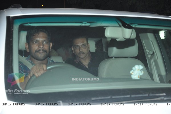 Ravi Shashtri was seen for Sachin Tendulkar's Grand Party