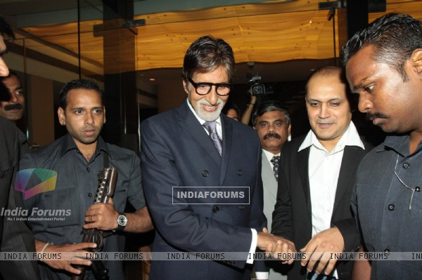 Amitabh Bachchan launches the LIC UJRA event