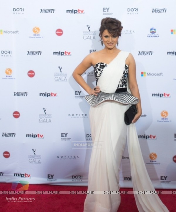 Aashka Goradia At The 41st International Emmy Awards