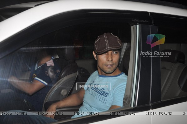 Randeep Hooda arrives at the 'Finding Fanny Fernandes' wrap up party