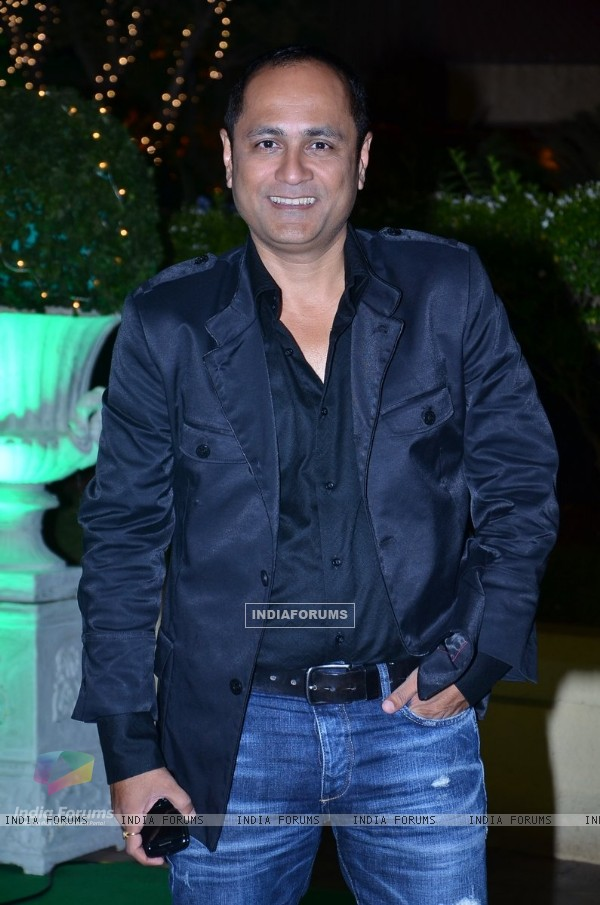 Vipul Shah was seen at Vishesh Bhatt's Wedding Reception