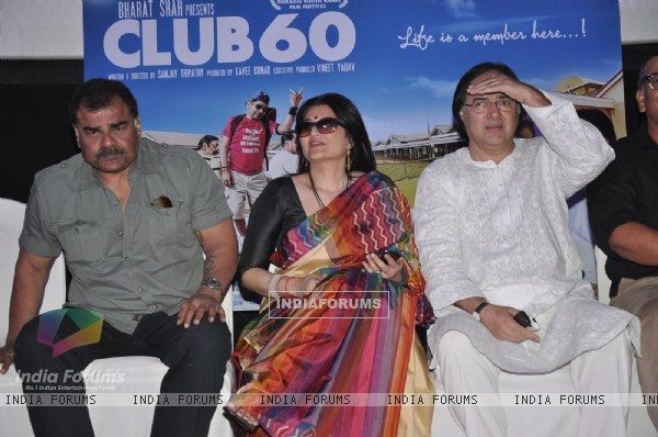 The cast of the film at the Press conference of the film Club 60