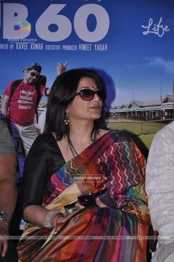 Sarika was at the Press conference of the film Club 60