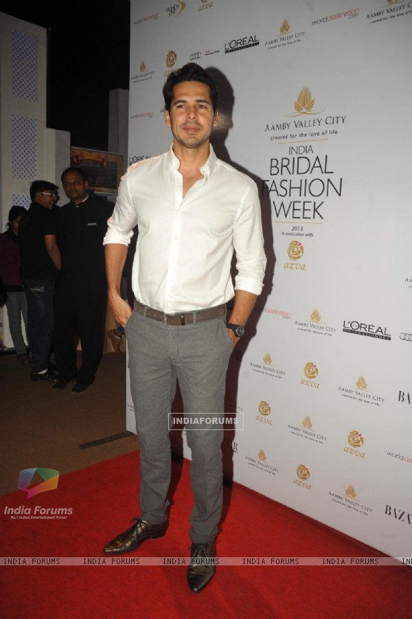 Dino Morea at the Aamby Valley India Bridal Fashion Week - Day 5