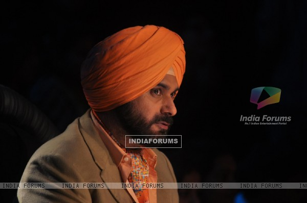 Navjot Singh Sidhu on Comedy Nights with Kapil