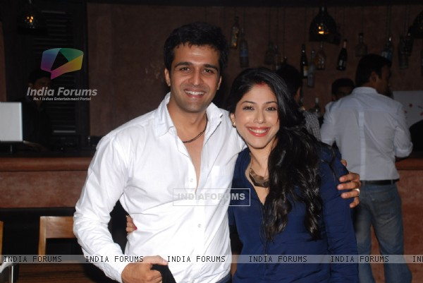 Addite Malik and Sachin Shroff at the Anniversary Party