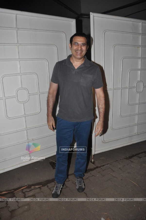 Parmeet Sethi was seen at the Special Screeing of R... Rajkumar
