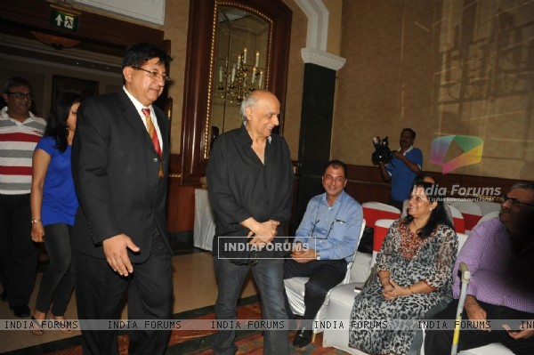 Mahesh Bhatt arrives at the Book Launch