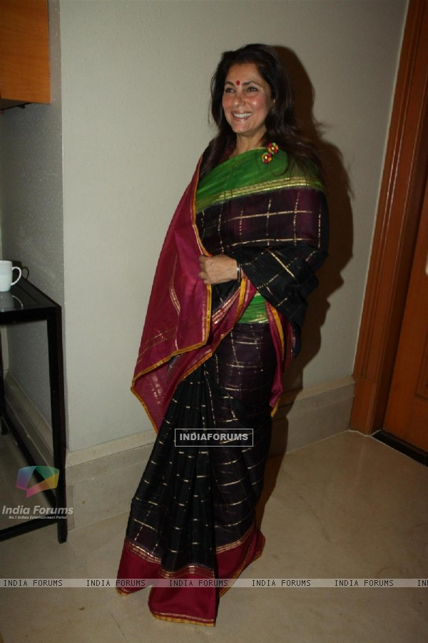 Dimple Kapadia at the UTV Stars event