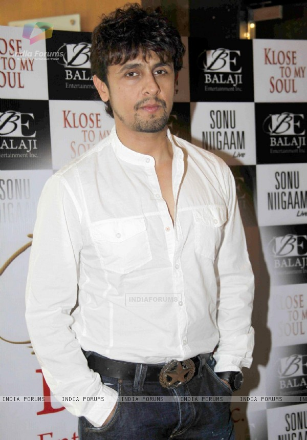 Sonu Nigam announces his world tour concert 'Klose to my Soul'