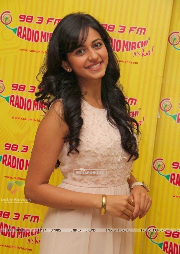 Rakul Preet Singh was at the Promotion of Yaariyan at Radio Mirchi