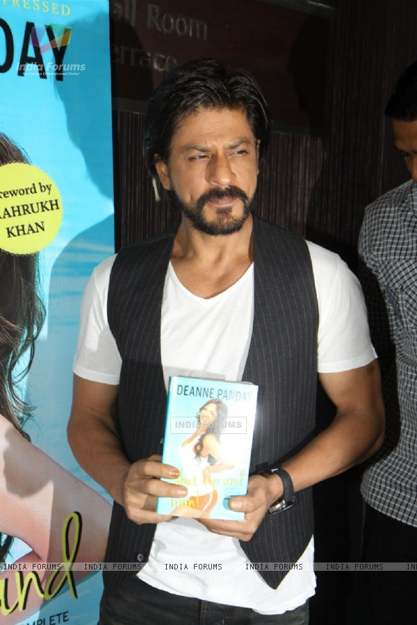 Shahrukh Khan launches Deanne Panday's book Shut Up and Train