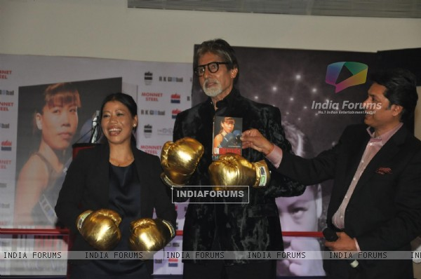 Amitabh Bachchan at Launch of the biography of boxer Mary Kom