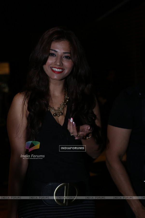 Ridheema Tiwari at India-Forums.com 10th Anniversary Party