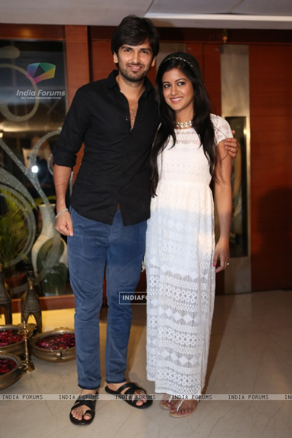 Rahul and Ishita at India-Forums.com 10th Anniversary Party