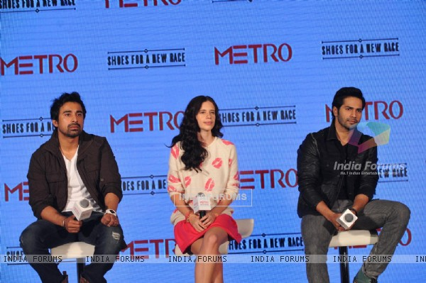 Launch of Metro shoes campaign 'Shoes for a New Race'