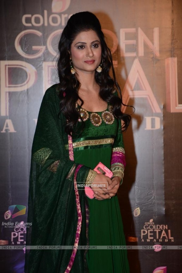 Shefali Sharma was at the COLORS Golden Petal Awards 2013