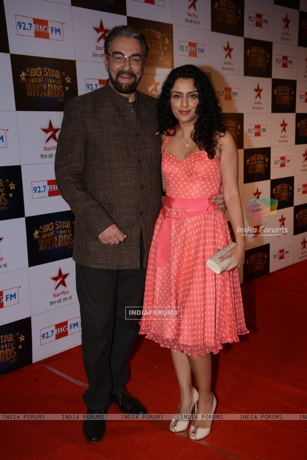 Kabir Bedi was at the 4th BIG Star Entertainment Awards