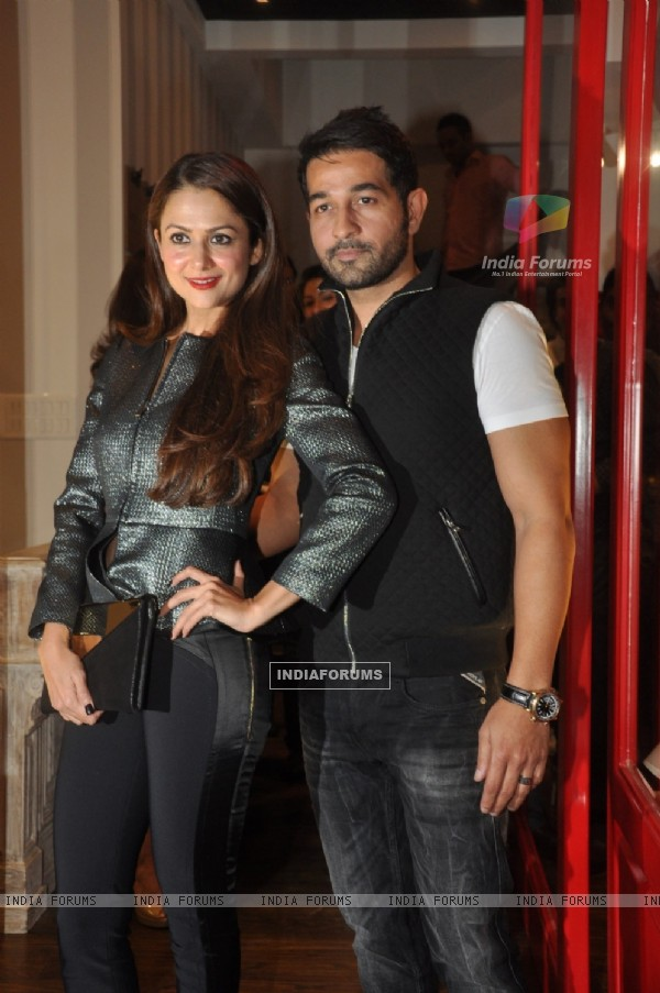 Amrita Arora was with her husband at the Launch of Store BANDRA 190
