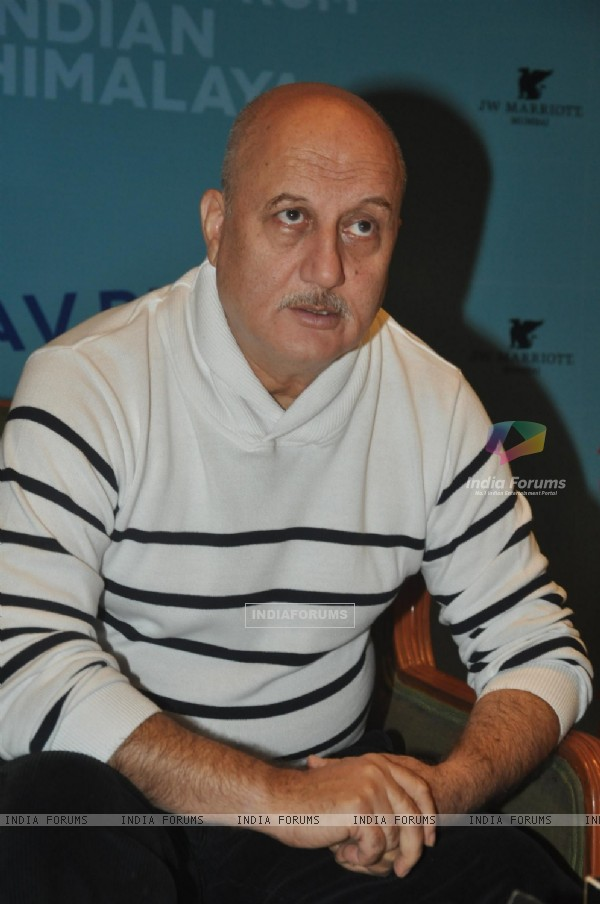 Anupam Kher at the 'The Land Of The Flying Lamas' Book Launch