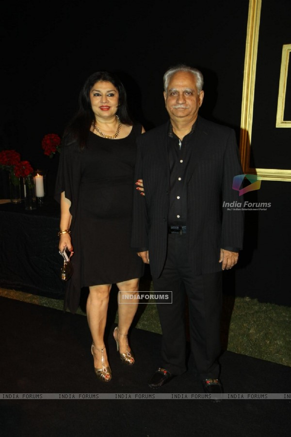 Ramesh Sippy and Kiran Juneja were seen at Deepika Padukone's party