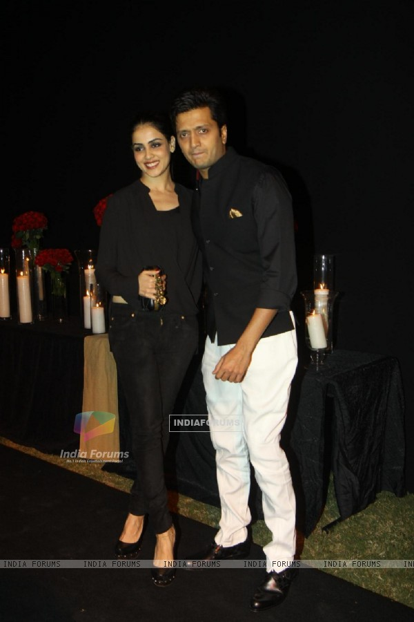 Genelia Dsouza and Riteish Deshmukh were at Deepika Padukone's party