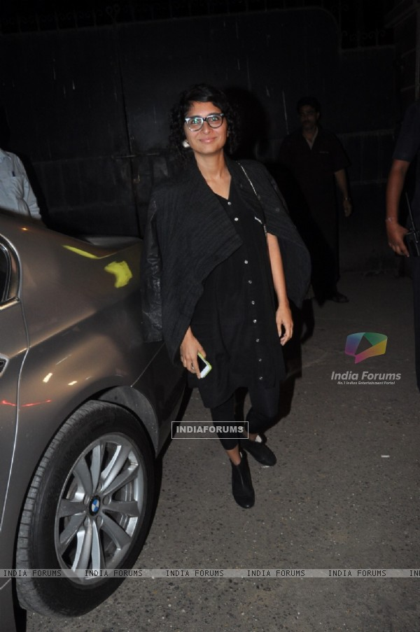Kiran Rao at the Screening of The Wolf of Wall Street