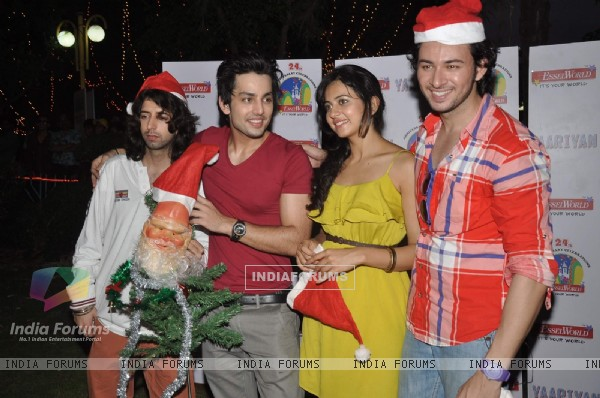 Yaariyan team at Esselworld