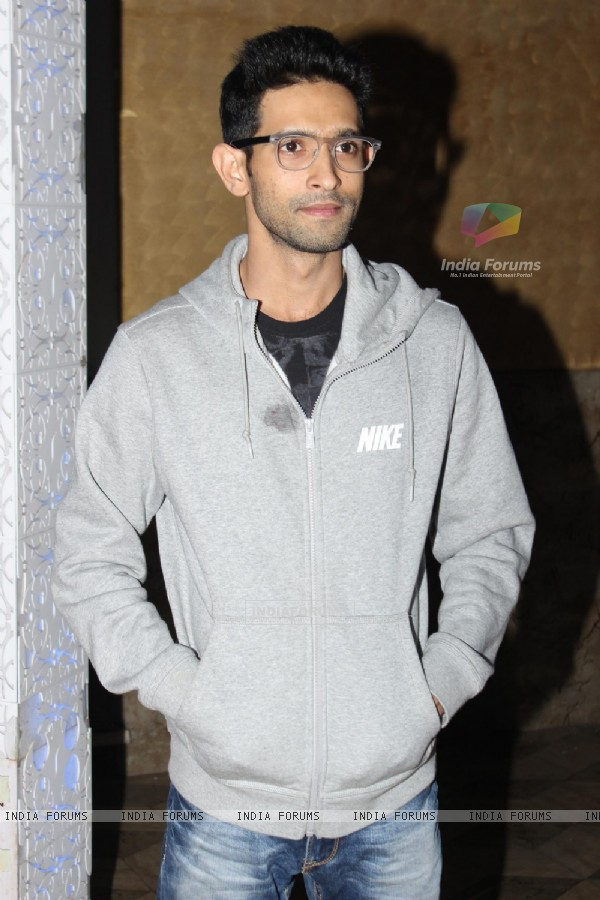 Vikrant Massey was at Nikhil Sinha and Suhana Sinha's party