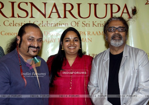Launch of devotional music album Krisnaruupa
