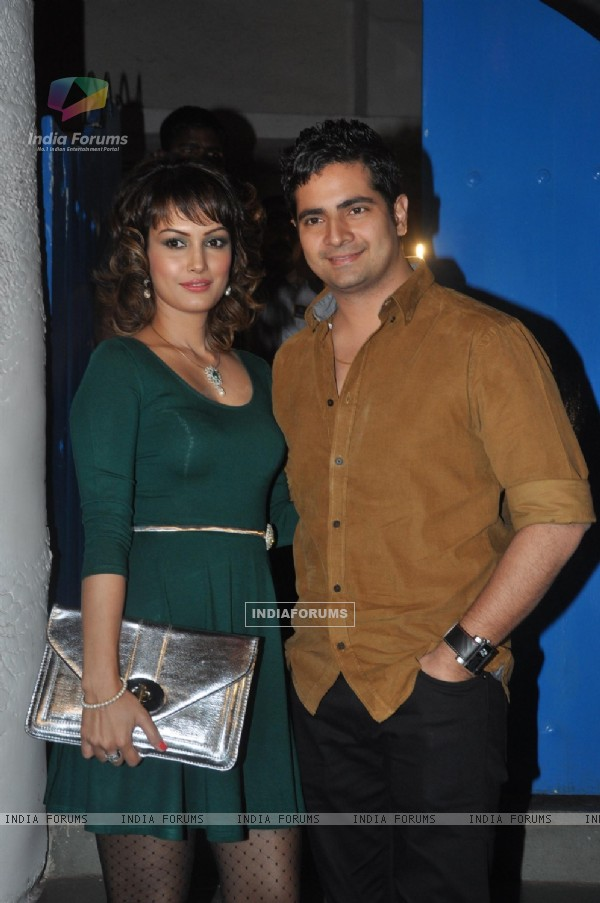 Nisha Rawal and Karan Mehra were at Dabboo Ratnani's 2014 Calendar launch