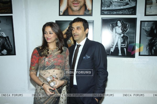 Gayatri Joshi and her husband were at Dabboo Ratnani's 2014 Calendar launch