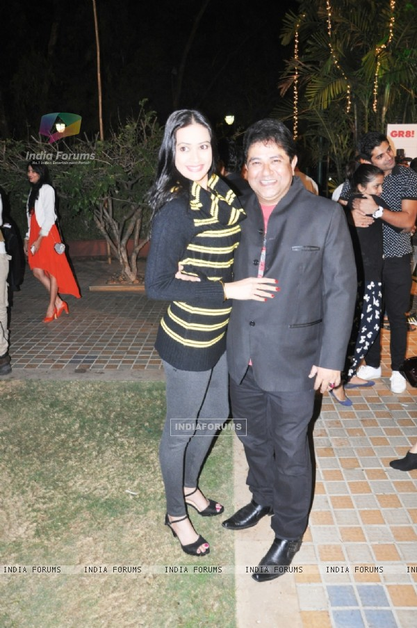Ashish Roy with Jasvir was at the GR8! Love Stories Calendar Launch