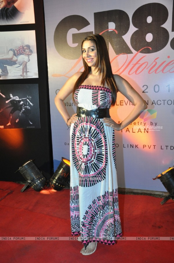 Pooja Missra at the GR8! Love Stories Calendar Launch