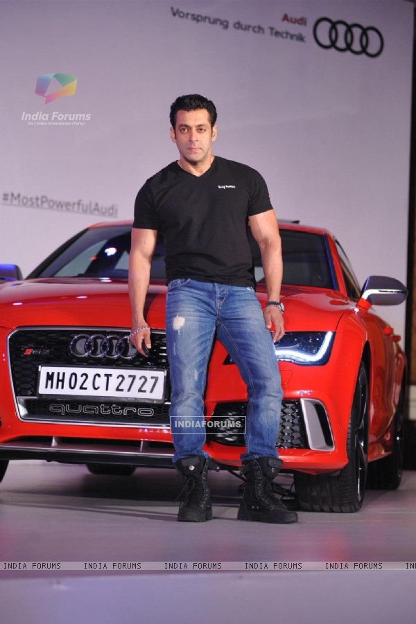 Salman Khan Unveils the Audi RS7