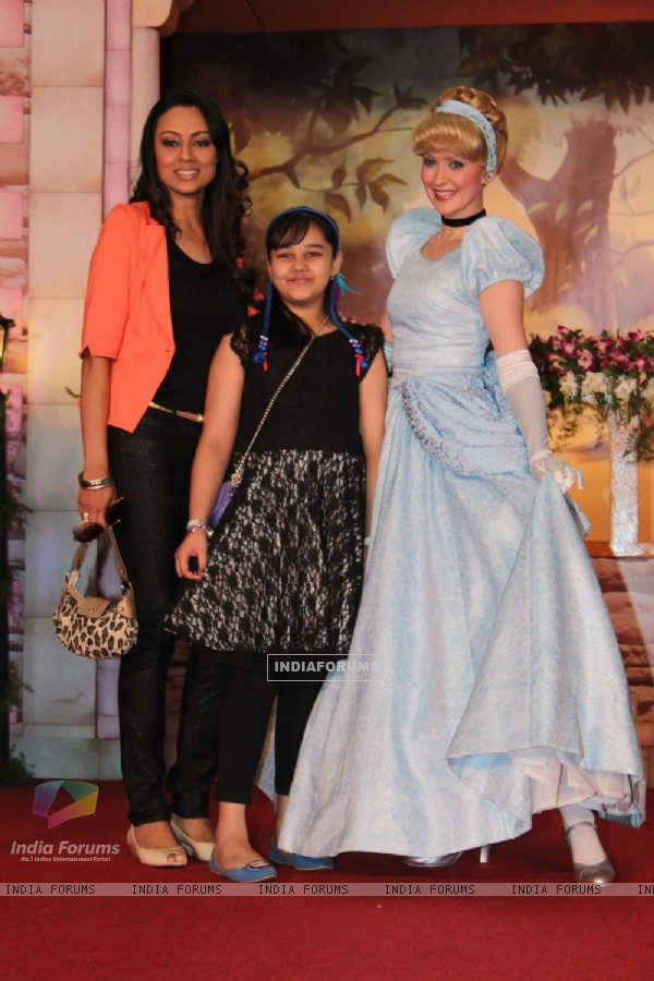 Disney Princesses meets Gauri Tonk and children