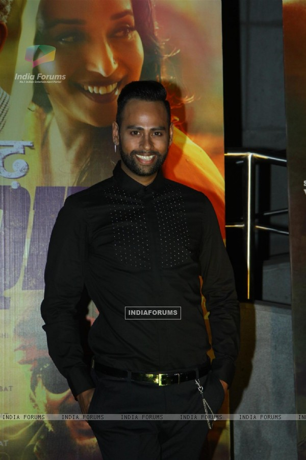 Andy was seen at the Premier of 'Dedh Ishqiya'