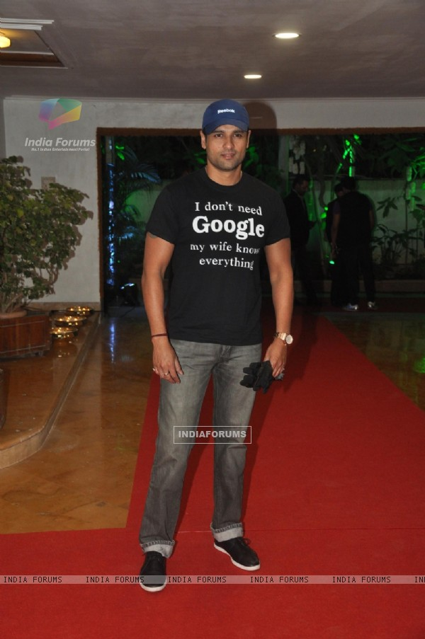 Rohit Roy at Rouble Nagi's Art Foundation Event