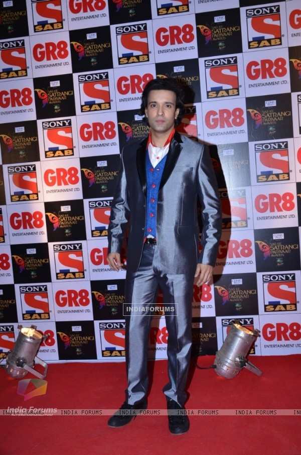 Aamir Ali at the SAB Ke Satrangi Parivaar Awards