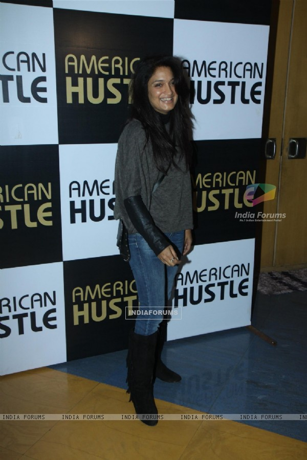 Sandhya Mridul was seen at the Special Screening Hollywood Film 'American Hustle'